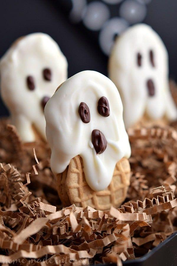"""<p>Chocolate, peanut butter, and an adorable decoration to finish it all off makes these simple cookies an obvious choice for your Halloween menu.</p><p><strong>Get the recipe at <a href=""""https://www.homemadeinterest.com/nutter-butter-boos/"""" rel=""""nofollow noopener"""" target=""""_blank"""" data-ylk=""""slk:Homemade Interest"""" class=""""link rapid-noclick-resp"""">Homemade Interest</a>.</strong></p><p><strong><a class=""""link rapid-noclick-resp"""" href=""""https://go.redirectingat.com?id=74968X1596630&url=https%3A%2F%2Fwww.walmart.com%2Fip%2FThe-Pioneer-Woman-Vintage-Floral-14-5-Inch-Serving-Platter%2F147105294&sref=https%3A%2F%2Fwww.thepioneerwoman.com%2Ffood-cooking%2Fmeals-menus%2Fg32110899%2Fbest-halloween-desserts%2F"""" rel=""""nofollow noopener"""" target=""""_blank"""" data-ylk=""""slk:SHOP SERVING PLATTERS"""">SHOP SERVING PLATTERS </a></strong> </p>"""