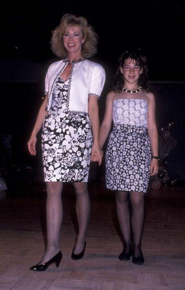 <p>We reached the peak of floral on floral in the '80s, but mother-daughter outfit coordination has certainly outlived this era.</p>