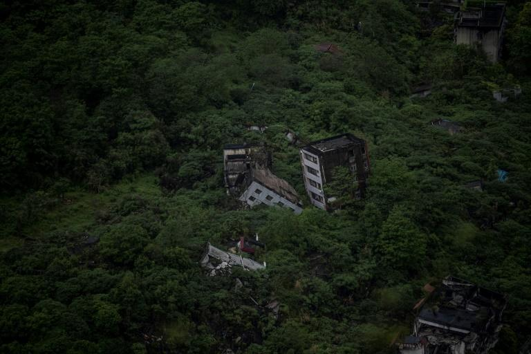 Nature is gradually reclaiming the homes that were destroyed by the 2008 quake, despite efforts to preserve Beichuan as a living monument to those who were killed
