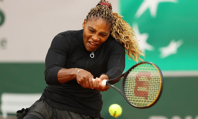 Serena Willams finds form to overcome Kristie Ahn challenge at French Open