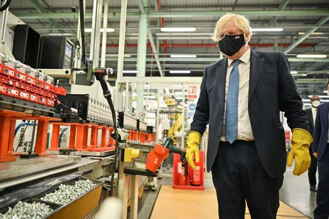 Prime Minister Boris Johnson is due to update the nation on his plans for easing measures in England this week