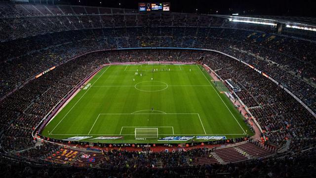 <p><strong>Average attendance: 77,970</strong></p> <p>Stadium capacity: 99,354</p> <p>Occupancy rate: 78.5%</p> <br><p>With players like Lionel Messi and Neymar on show each week, it is no wonder that over 75,000 ascend onto the Nou Camp each week. However, the continent's biggest stadium is almost never filled out to the brim. </p>