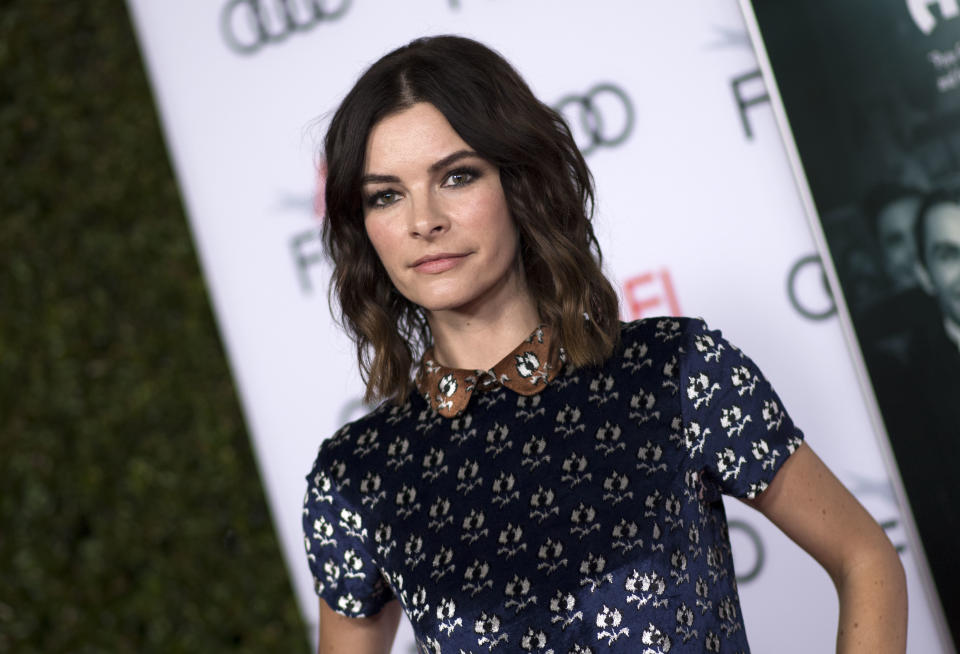 Actress Kelly Oxford attends The Disaster Artist Centerpiece Gala Presentation during AFI Film Festival, on November 12, 2017, in Hollywood, California. / AFP PHOTO / VALERIE MACON        (Photo credit should read VALERIE MACON/AFP via Getty Images)
