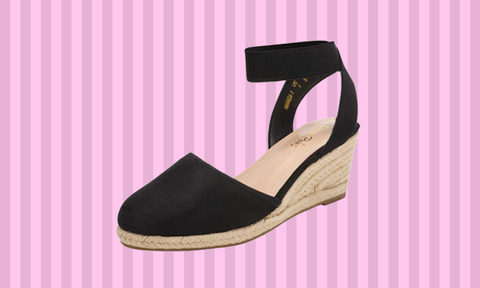 These espadrilles can be yours. (Photo: Amazon)