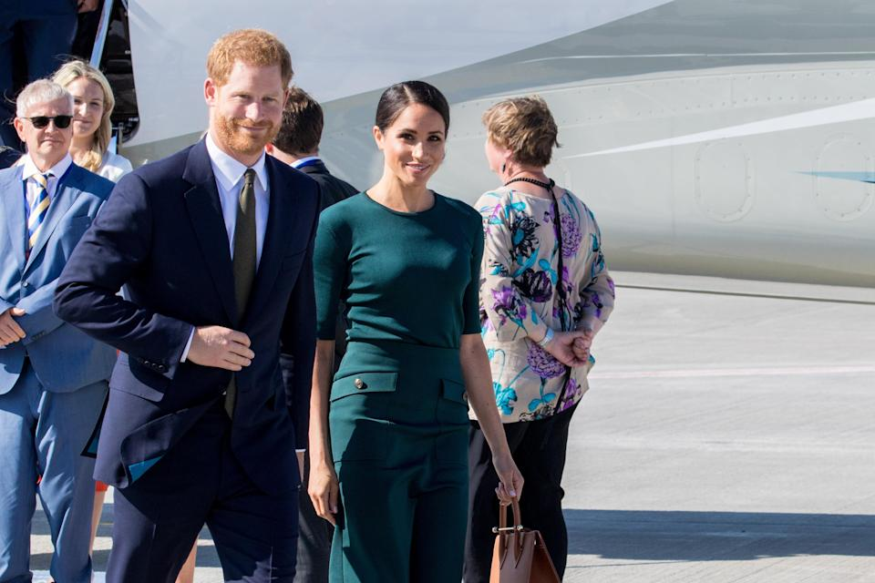 The Duke and Duchess took a two day trip to Ireland in July (PA)