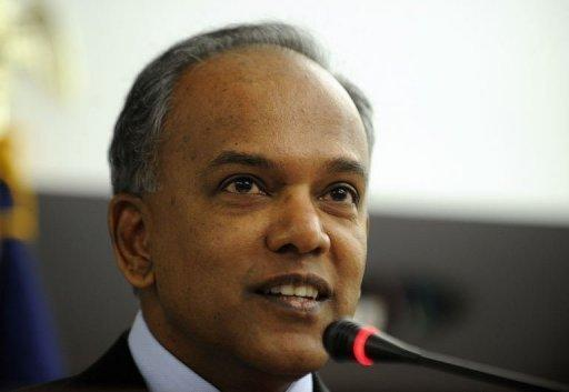 Singaporean Foreign Minister K. Shanmugam said the United States should press ahead with the Trans-Pacific Partnership