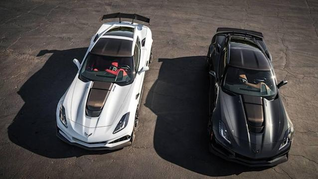 Leno is taking a closer look at the 2019 Corvette ZR1.