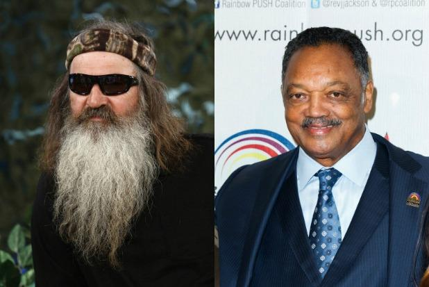 Jesse Jackson Calls 'Duck Dynasty' Dad 'More Offensive' Than Rosa Parks' Bus Driver