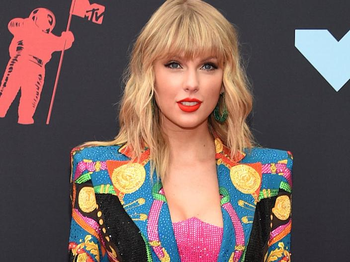 Taylor Swift in August 2019.