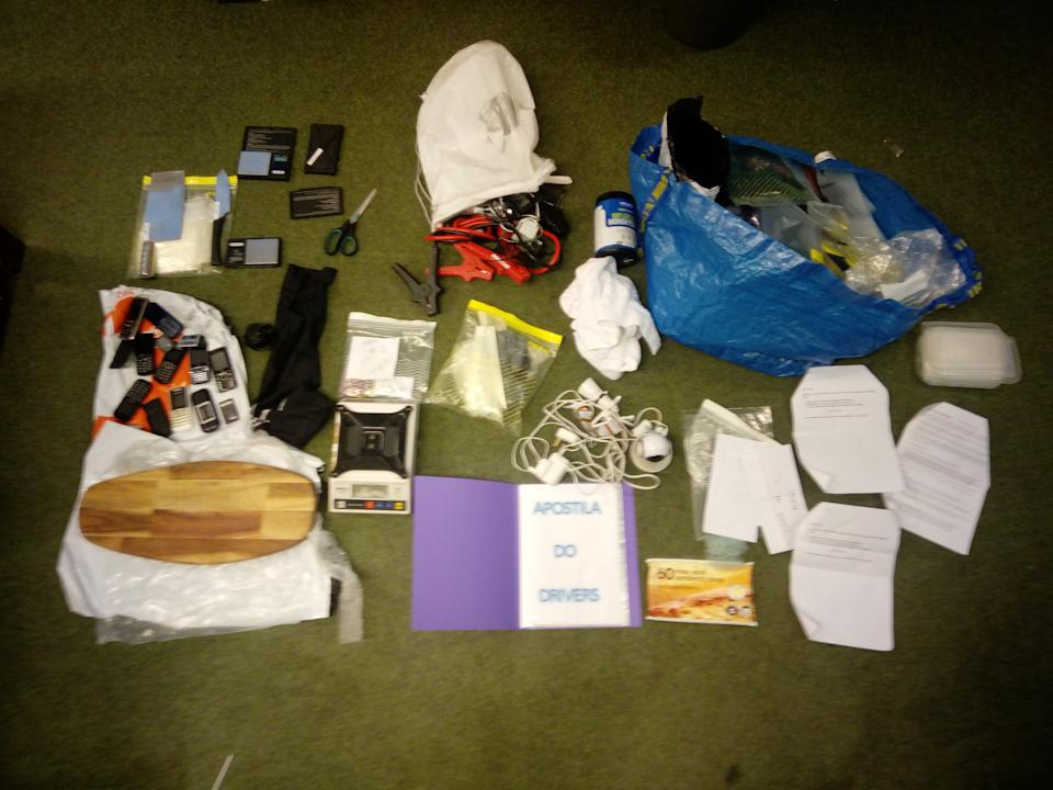 Police seized drugs and equipment relating to the operation. (Met Police)