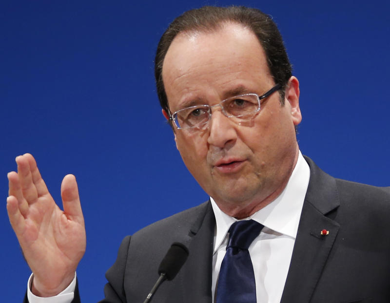 French president says eurozone crisis is over