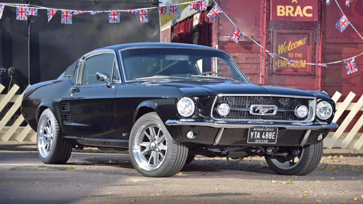 1967 Mustang Fastback >> Is It Cheaper To Buy A 1967 Ford Mustang Fastback From Britain