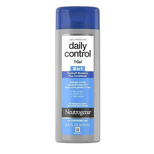 """<p><strong>Neutrogena</strong></p><p>amazon.com</p><p><strong>$5.68</strong></p><p><a href=""""https://www.amazon.com/dp/B00991IPA8?tag=syn-yahoo-20&ascsubtag=%5Bartid%7C2139.g.35918295%5Bsrc%7Cyahoo-us"""" rel=""""nofollow noopener"""" target=""""_blank"""" data-ylk=""""slk:BUY IT HERE"""" class=""""link rapid-noclick-resp"""">BUY IT HERE</a></p><p>In a hurry? If you want to both shampoo and condition in one swoop, Neutrogena's Daily Control 2-in-1 Anti-Dandruff Shampoos is the one for you.</p>"""