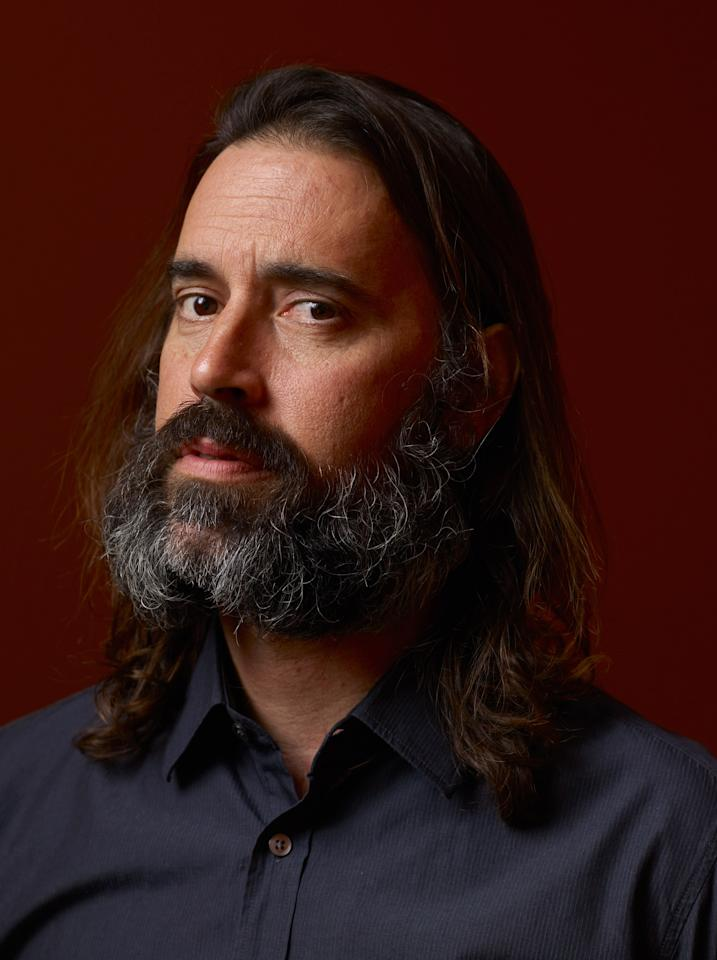 """TORONTO, ON - SEPTEMBER 11:  Actor Jeffrey Daniel Phillips of """"Lords Of Salem"""" poses at the Guess Portrait Studio during 2012 Toronto International Film Festival on September 11, 2012 in Toronto, Canada.  (Photo by Matt Carr/Getty Images)"""