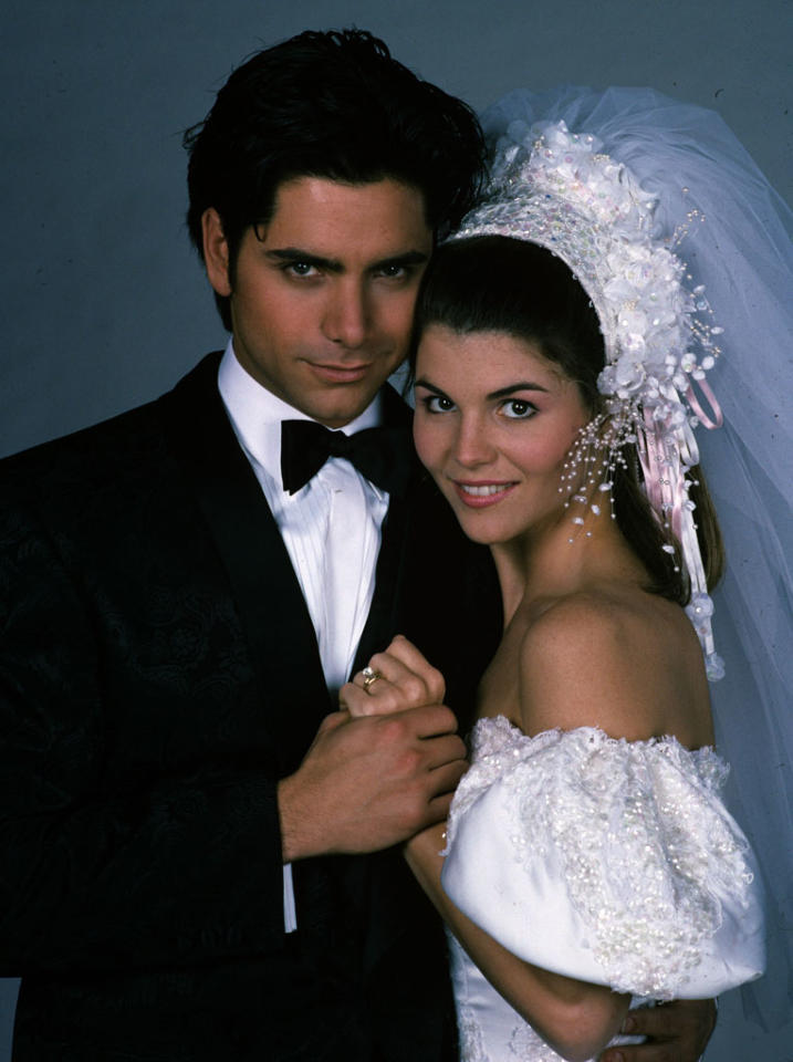 "Lori Loughlin's character, Becky Donaldson, was supposed to appear in only six Season 2 <a href=""http://www.classictvbeauties.com/loriloughlin.html"">episodes</a>. But when producers decided that the Tanner girls finally needed a mother figure, Becky married Uncle Jesse in Season 3."