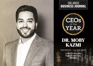 Dr. Kazmi is one of the Orlando Business Journal's 2021 CEOs of the Year