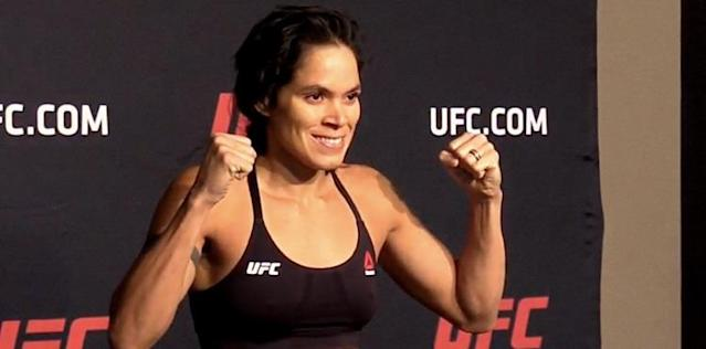 Amanda Nunes UFC 213 weigh
