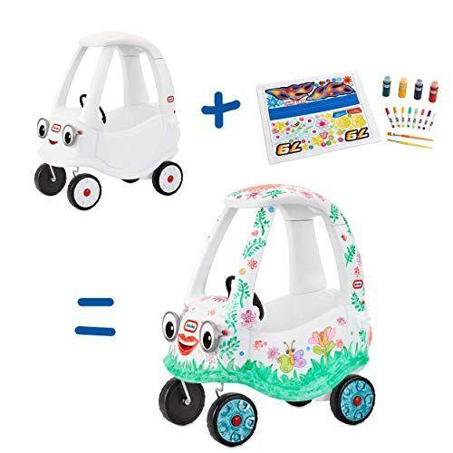 """<p><strong>Little Tikes</strong></p><p>amazon.com</p><p><strong>$59.99</strong></p><p><a href=""""https://www.amazon.com/dp/B07VBJGCFC?tag=syn-yahoo-20&ascsubtag=%5Bartid%7C10050.g.34274350%5Bsrc%7Cyahoo-us"""" rel=""""nofollow noopener"""" target=""""_blank"""" data-ylk=""""slk:Shop Now"""" class=""""link rapid-noclick-resp"""">Shop Now</a></p><p>The cozy coup has delighted young kids for ages. This updated version allows kids to color on their new set of wheels. </p>"""
