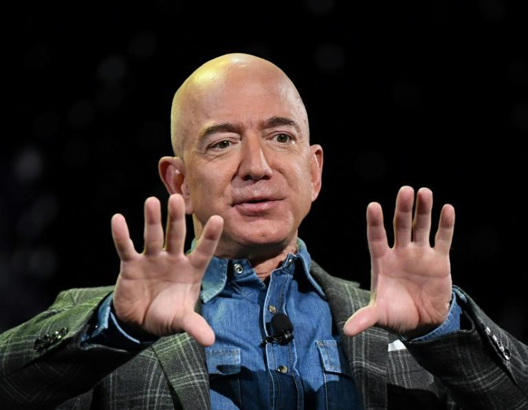 Amazon Founder and CEO Jeff Bezos, seen here at a 2019 conference, said he would transition to become executive chair of the tech giant later this year as Andy Jassy becomes CEO