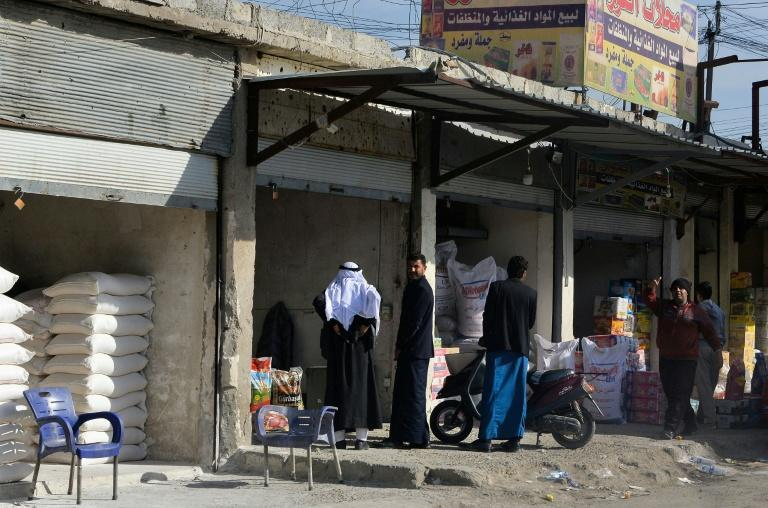 The historic wholesale market of Mosul is battling the odds, from extremists to epidemic, to revive the northern Iraqi city's tradition as a trading centre