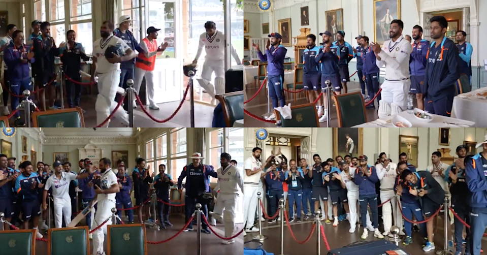 Watch: Mohammed Shami And Jasprit Bumrah Greeted With A Standing Ovation By The Indian Team In The Change Room