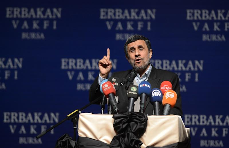 Former Iranian President Mahmoud Ahmadinejad Disqualified From Running Again