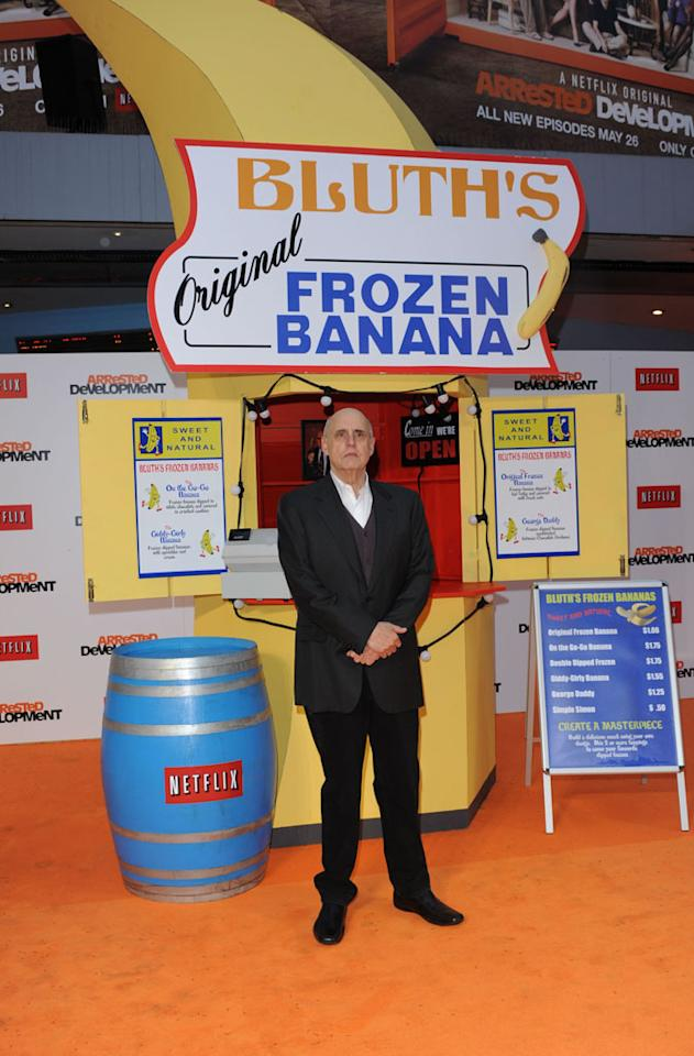 """Jeffrey Tamobr attends the red carpet premiere for the launch of Netflix Original Series, """"Arrested Development,"""" Season 4 on May 09, 2013 at Vue Leicester Square in London, England."""