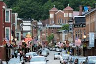 """<p>The historic charm of <a href=""""https://go.redirectingat.com?id=74968X1596630&url=https%3A%2F%2Fwww.tripadvisor.com%2FTourism-g36022-Galena_Illinois-Vacations.html&sref=https%3A%2F%2Fwww.thepioneerwoman.com%2Fjust-for-fun%2Fg34836106%2Fsmall-american-town-destinations%2F"""" rel=""""nofollow noopener"""" target=""""_blank"""" data-ylk=""""slk:this mining town's"""" class=""""link rapid-noclick-resp"""">this mining town's</a> six-block Main Street will make you feel like you took a time machine to a different decade. After you conquer downtown, must-see attractions include the Old Market House and the Historical Society and Museum.</p>"""