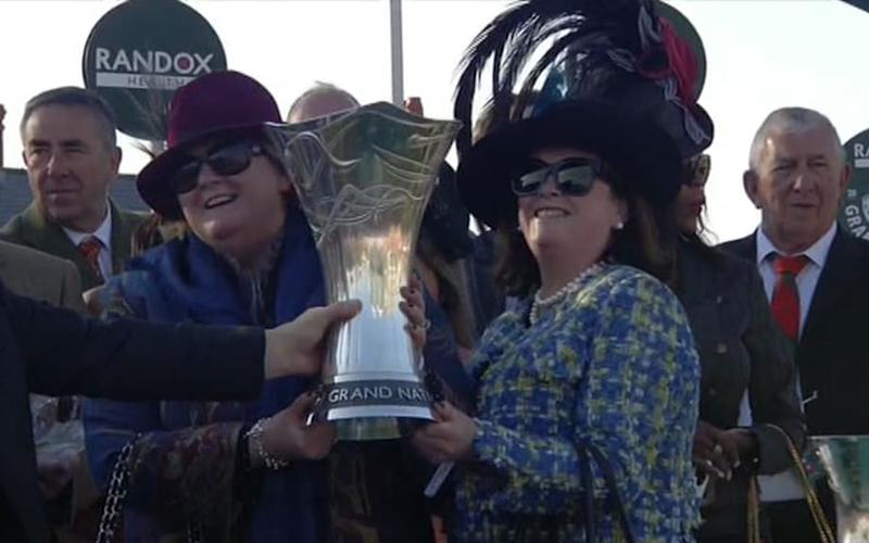 Winning owners of national - Credit: ITV