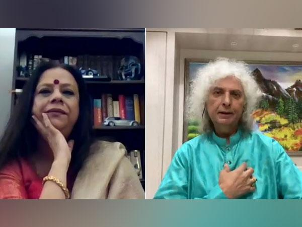 Ina Puri and Pt Shiv Kumar Sharma