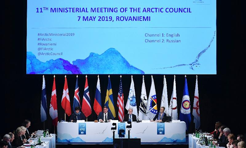 It was the first time the Arctic Council, which held its first meeting in 1996, failed to present a final declaration at the end of a ministerial meeting