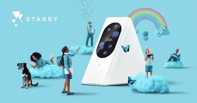 Starry wants to take on the likes of Comcast and Verizon with its own DIY network transmitter.