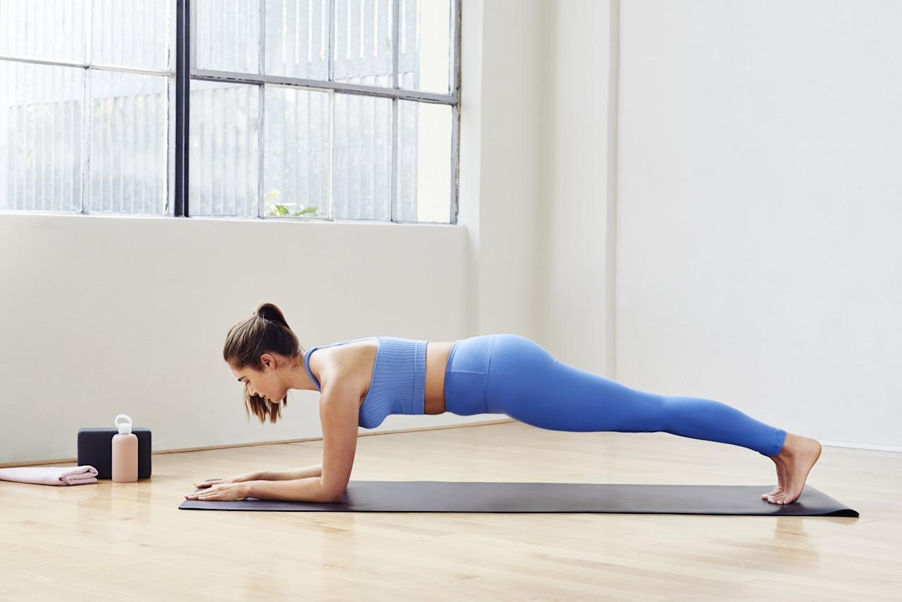 """<p>If you are a beginner or just need to give your muscles a rest, try this trainer's <a href=""""https://www.popsugar.com/fitness/Total-Body-Bodyweight-Workout-46054448"""" class=""""ga-track"""" data-ga-category=""""Related"""" data-ga-label=""""https://www.popsugar.com/fitness/Total-Body-Bodyweight-Workout-46054448"""" data-ga-action=""""In-Line Links"""">15-minute total-body bodyweight workout</a>. It's guaranteed to get you sweaty and work your muscles in all the right places.</p>"""