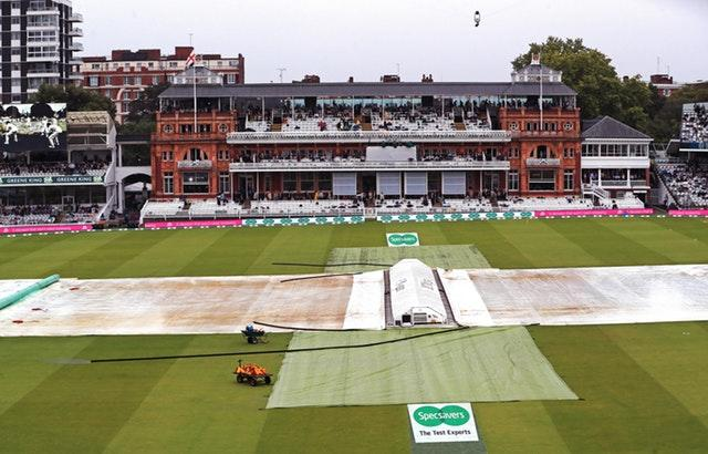 The covers are on at Lord's