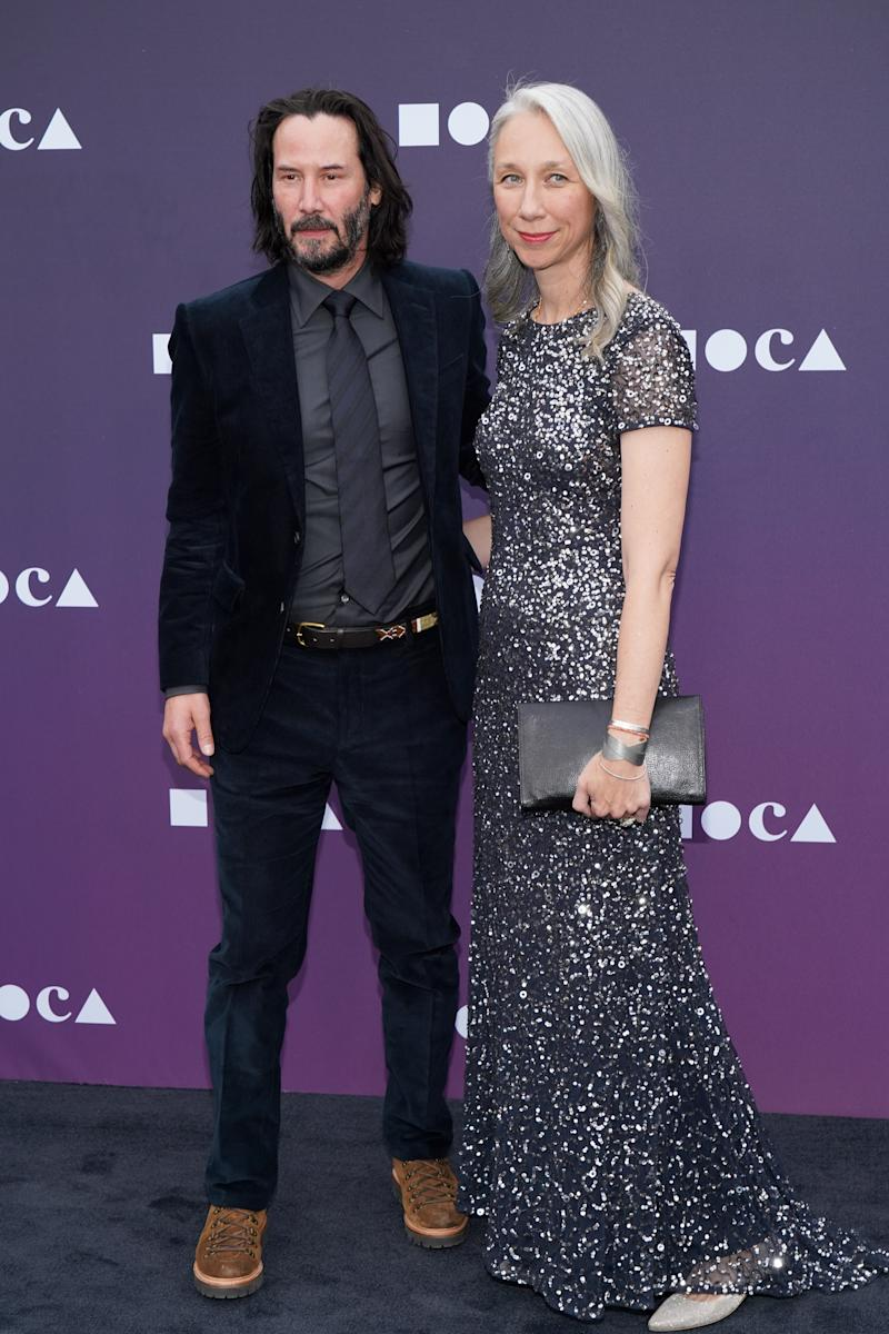 Reeves and Grant in May 2019. Image via Getty Images.