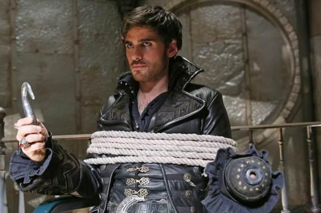 Colin O'Donoghue as Captain Hook in 'Once Upon A Time' -- ABC