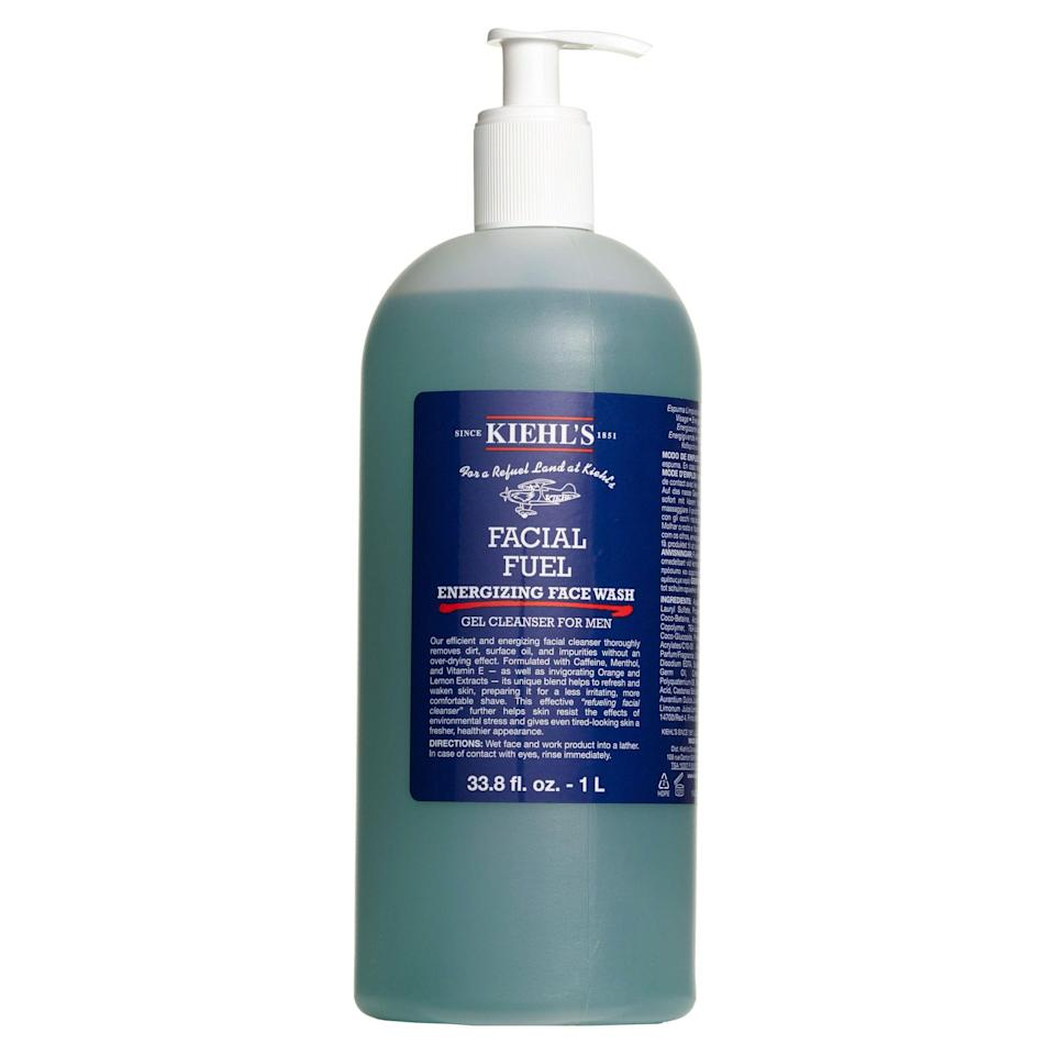 """<p><strong>Kiehl's</strong></p><p>nordstrom.com</p><p><a href=""""https://go.redirectingat.com?id=74968X1596630&url=https%3A%2F%2Fwww.nordstrom.com%2Fs%2Fkiehls-since-1851-facial-fuel-energizing-face-wash%2F4692068&sref=https%3A%2F%2Fwww.esquire.com%2Fstyle%2Fmens-fashion%2Fg37002225%2Fnordstrom-anniversary-sale-mens-fashion-deals-2021%2F"""" rel=""""nofollow noopener"""" target=""""_blank"""" data-ylk=""""slk:Shop Now"""" class=""""link rapid-noclick-resp"""">Shop Now</a></p><p><strong>Sale: $39.00</strong></p><p><strong>After Sale: $59.00</strong></p><p>An extra-large bottle for a not-extra-large price.</p>"""