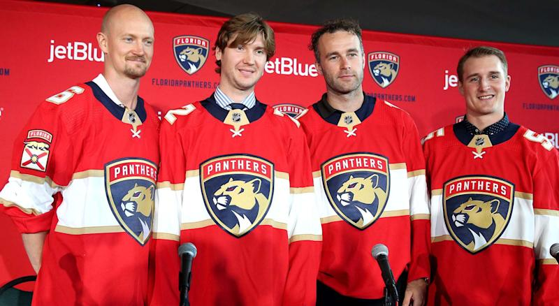 There's no questioning that the Florida Panthers should be a much improved team this season. (Charles Trainor/Miami Herald/TNS via Getty Images)