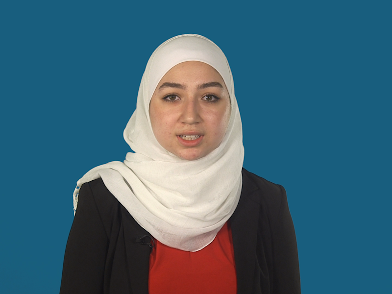 This teenage Syrian refugee has an inspiring message about proving the 'haters' wrong