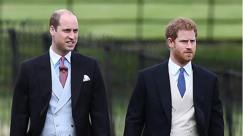 Prinz William und Prinz Harry