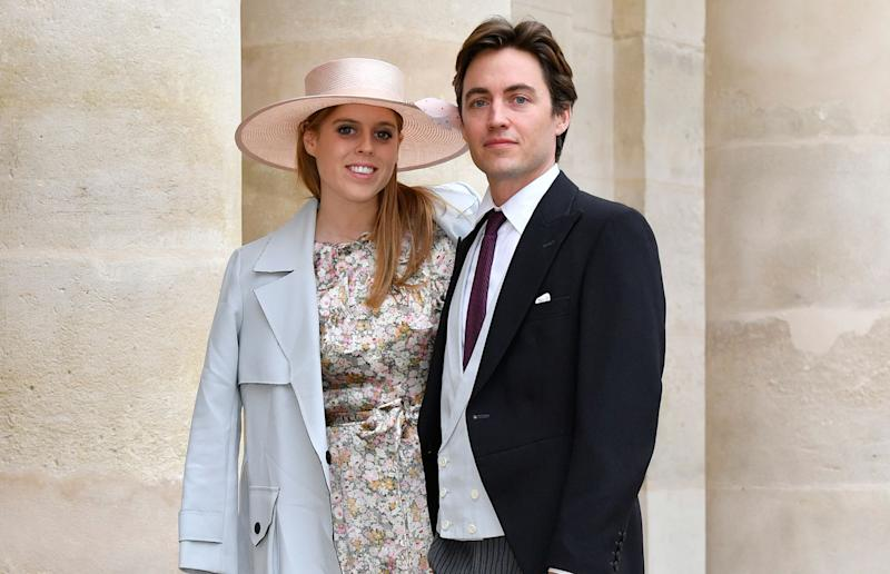Princess Beatrice and her fiancé Edoardo Mapelli Mozzi