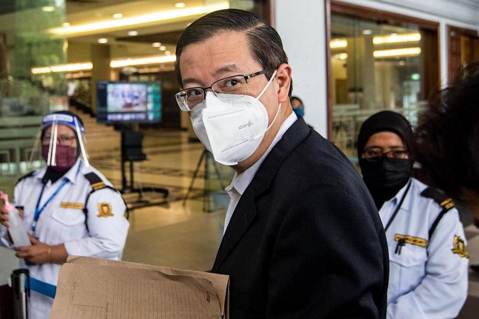The Bagan MP asked the MACC to explain the recent slew of prosecution cases against Opposition lawmakers and lack of court action against those who support the government. ― Picture by Firdaus Latif
