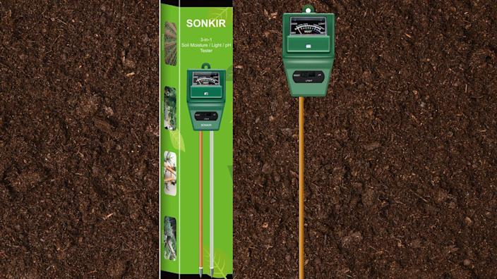 This pH tester will help you care for your favorite plants.