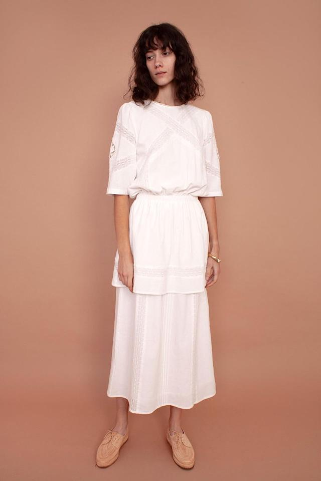 """<p><a class=""""body-btn-link"""" href=""""https://meadows-store.com/collections/womens/products/ivy-dress"""" target=""""_blank"""">BUY NOW</a> <strong>£190, Meadows</strong></p><p>Just like its British sister brand, L F Markey, Meadows is about slow fashion and ethical manufacturing. Think muted tones and dresses inspired by folklore.</p>"""