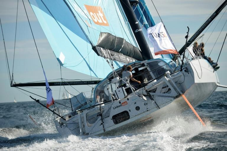French skipper Thomas Ruyant is the new leader of the Vendee Globe in his his Imoca 60 monohull LinkedOut