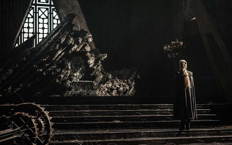 Emilia Clarke as Daenerys Targaryen in Game of Thrones season seven