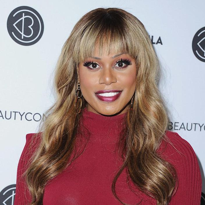 """<p>See what Laverne Cox did here? Some of the lightest bits are on top — where the sun would naturally hit — while the longer ends are a bronzey auburn. You don't need us to tell you that the overall effect is masterful, working off both the high and low tones in her skin's coloring. </p> <p>""""Laverne has a more neutral-leaning skin tone so she can wear multiple shades of blonde well and we see that shade range demonstrated here from the lighter gold to the more honey tones in the mid-length to ends,"""" says <a href=""""https://www.instagram.com/aaronbradford/"""" rel=""""nofollow noopener"""" target=""""_blank"""" data-ylk=""""slk:Aaron Bradford"""" class=""""link rapid-noclick-resp"""">Aaron Bradford</a>, colorist at <a href=""""https://www.cedricsalon.com/"""" rel=""""nofollow noopener"""" target=""""_blank"""" data-ylk=""""slk:Cedric Salon"""" class=""""link rapid-noclick-resp"""">Cedric Salon</a> in NYC. """"To achieve this look, balayage would be the best option in order to maximize the amount of depth possible.""""</p>"""