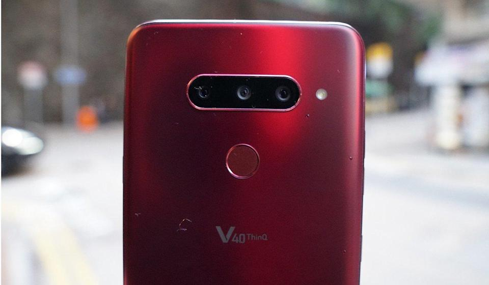 LG V40 ThinQ smartphone: best Android video phone, perfect for vloggers