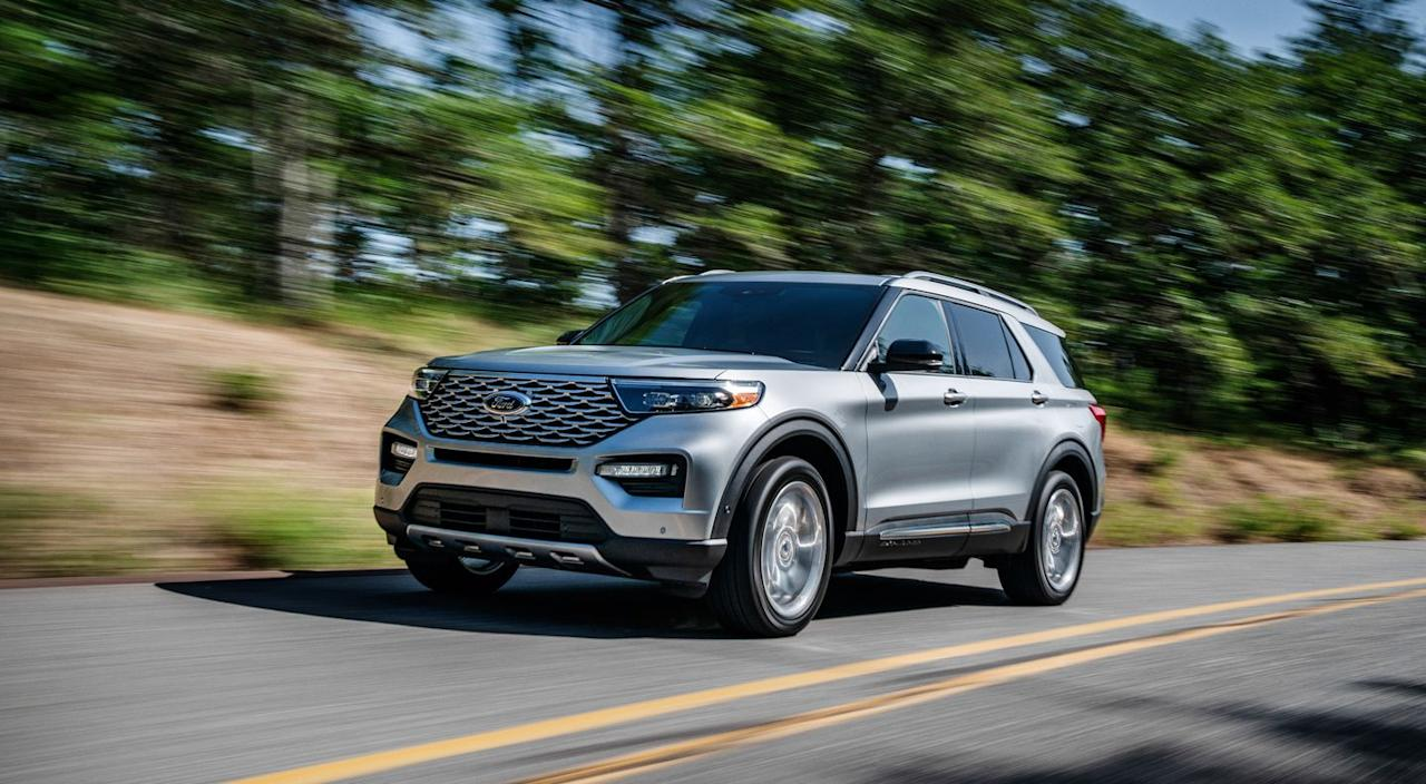 <p>Pricing for the new Ford Explorer starts at $37,770 for the XLT model yet approaches $60K on the top-level Platinum.</p>
