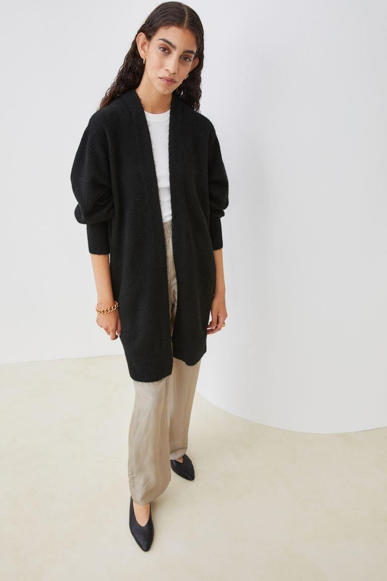 <p>We'd like to get all wrapped up in this <span>H&amp;M Long Cardigan</span> ($20). It's cozy and essential; you'll never want to take it off.</p>